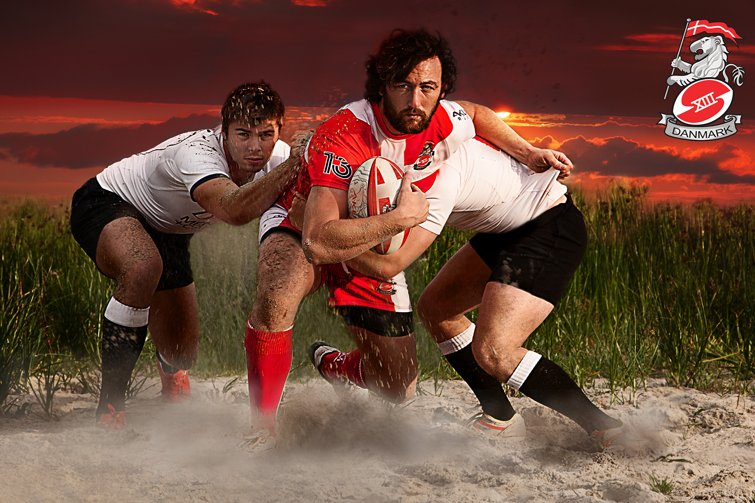Advertising Rugby League Denmark