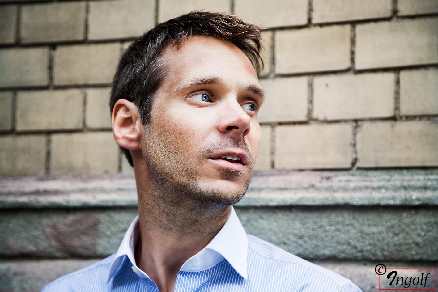 Skådespelare Mattias Linderoth