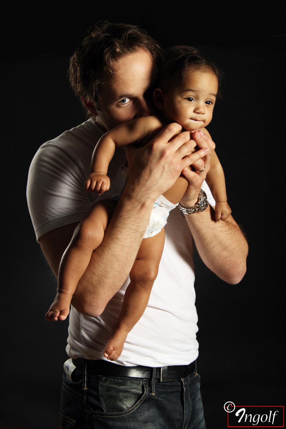 Pappa och dotter